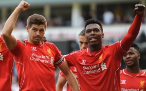 Daniel-Sturridge-Steven-Gerrard-Liverpool