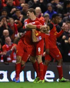 Steven+Gerrard+Luis+Suarez+Liverpool+v+Sunderland+Rg6Xin6Xo8Ll
