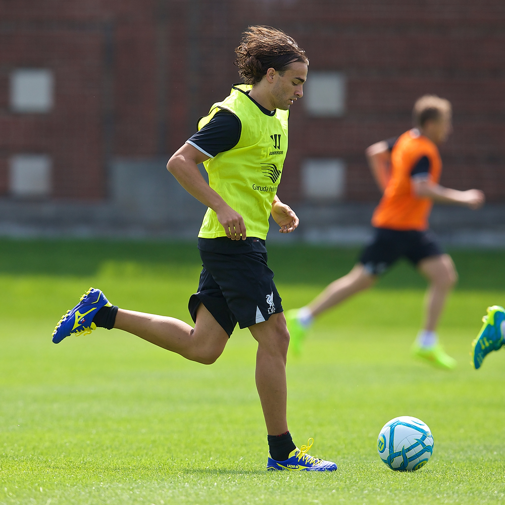 Football - Liverpool FC Preseason Tour 2014 - Liverpool training in Harvard