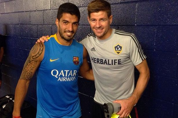 Luis-Suarez-and-Steven-Gerrard