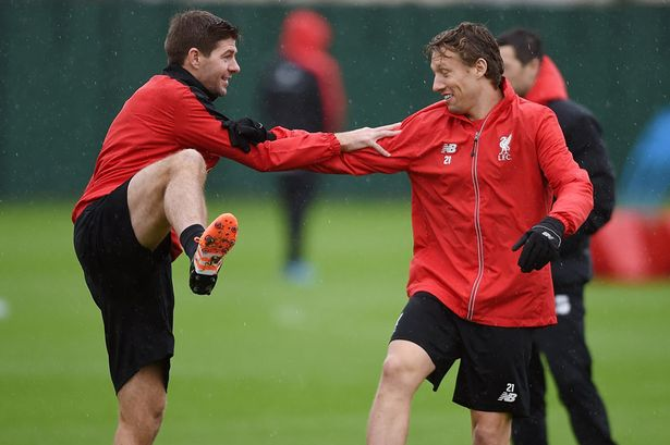 Steven-Gerrard-Training