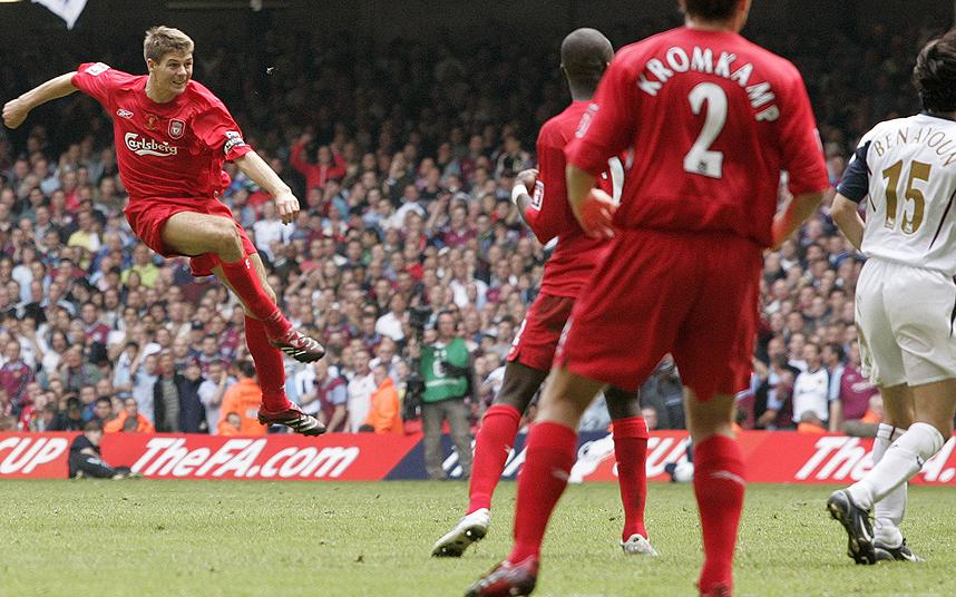 Football Liverpool v West Ham  FA CUP FINAL