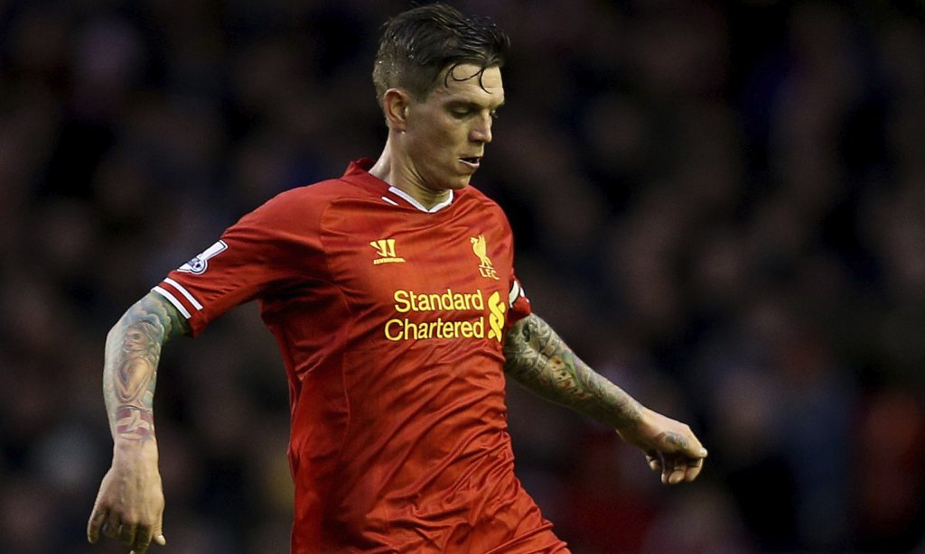 Daniel Agger of Liverpool
